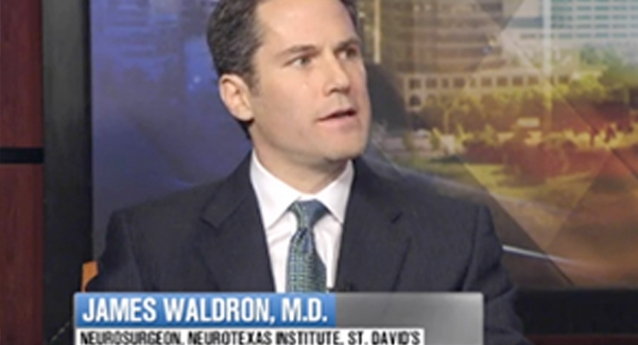 Dr. Waldron Interviews With KVUE